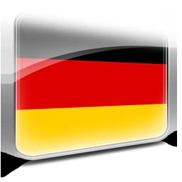 Tysk flag stor