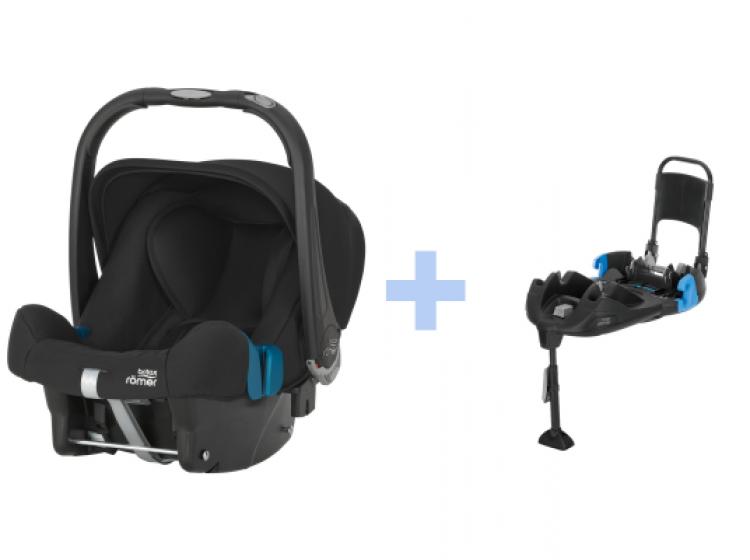 Römer Baby Safe Plus SHR II med Belted Base