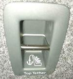 Top Tether i bagagerummet