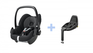 Maxi Cosi Pebble med 2way base
